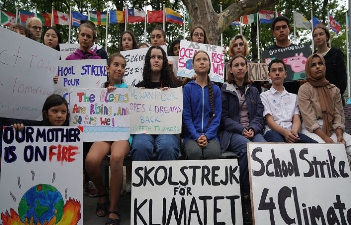climate strike took place worldwide