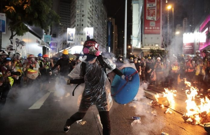 Amnesty accused Hong Kong police of using excessive force