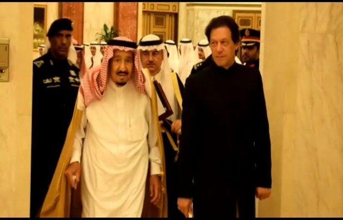Prime Minister Khan informed Saudi King Salman on latest situation in IOK