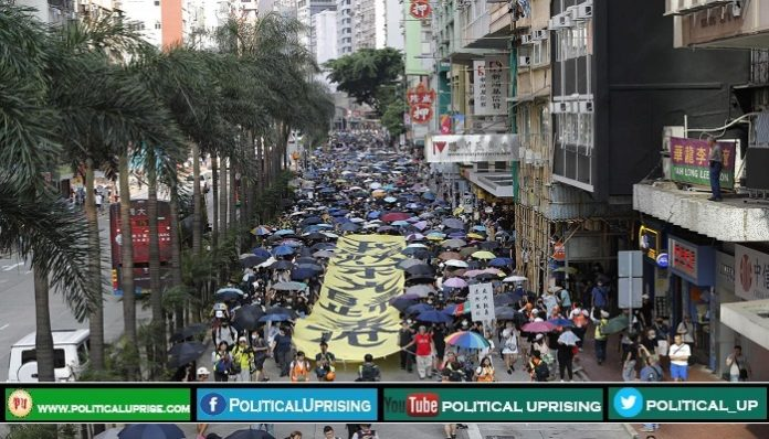 Hong Kong protest has Paralysed transport