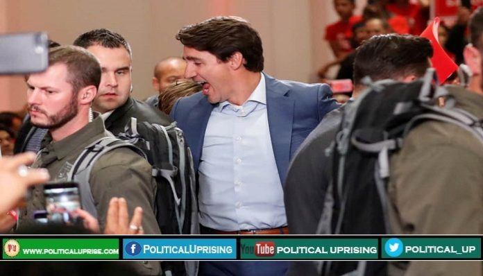 Canadian PM Justin Trudeau receives threat