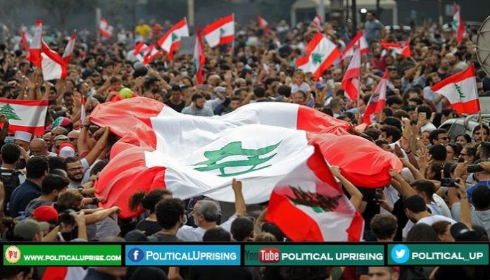 Lebanon Prime Minister gave up in front of protesters