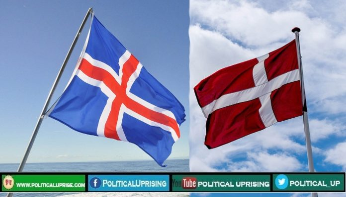 Clash breaks out between Denmark and Iceland
