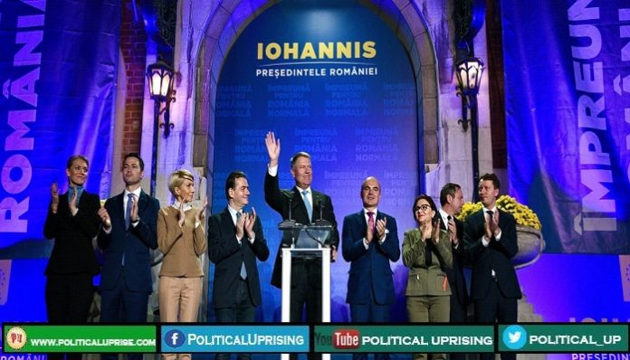 President Klaus Iohannis set to be re-elected