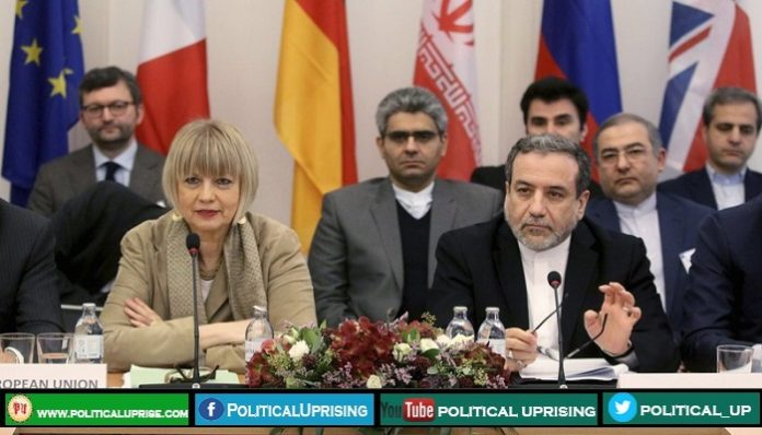 European countries urged Iran to stop violating nuclear deal