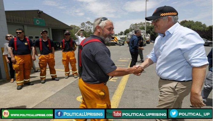 Australia announces compensation for firefighters