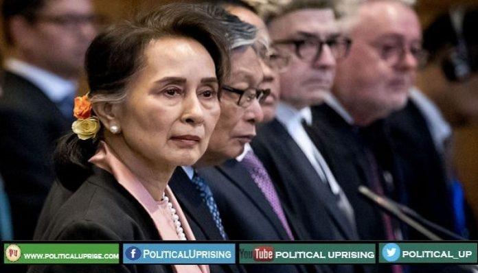 Aung San Suu Kyi defends Myanmar genocide