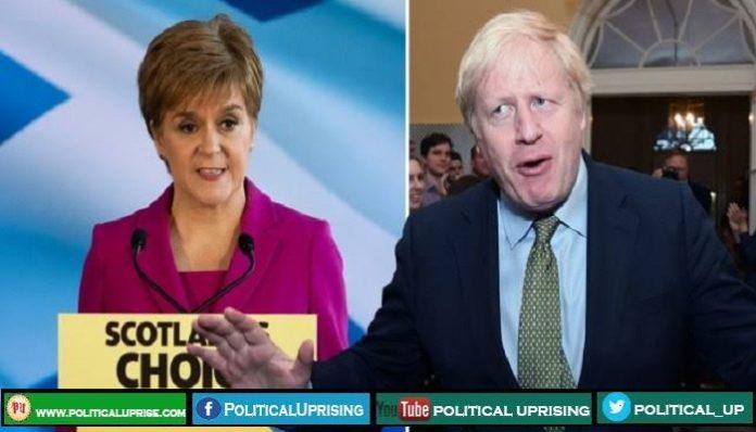 Scotland minister asked Johnson to grant second referendum