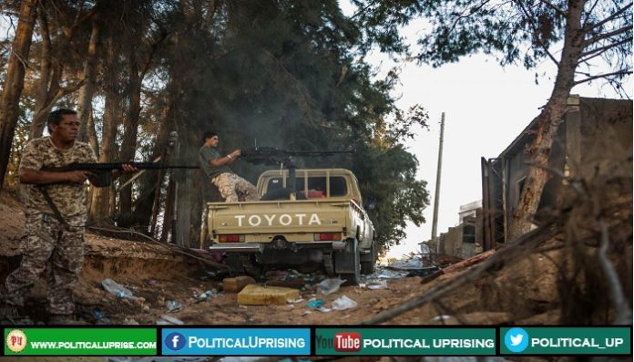 Libyan army,Haftar's forces made Tripoli airport battlefield
