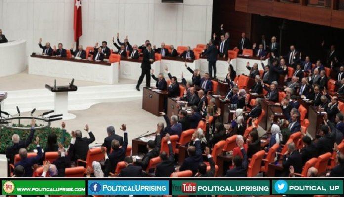 Turkey's Legislature approves motion on sending troops to Libya
