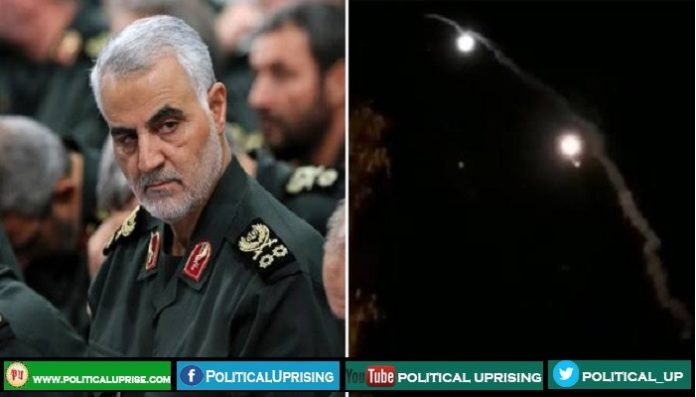Iran launches ballistic missiles targeting US presence in Iraq