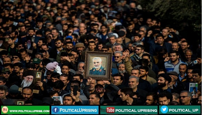 Soleimani killing escalated tension between US and Iran :File Photo