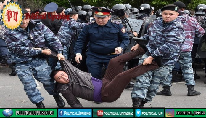 Kazakh Police crackdown on opposition ended hopes for fair polls