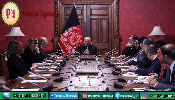 US envoy for Afghanistan Reconciliation briefs Ashraf Ghani