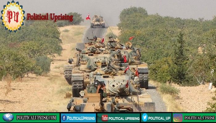 Ankara deploys more tanks to Syrian border after Idlib violence :File Photo