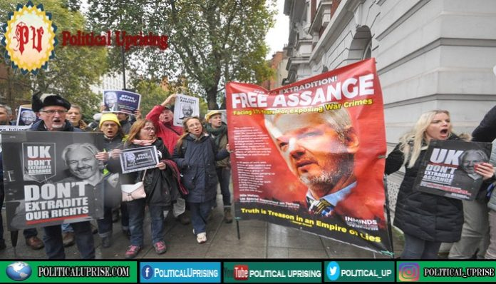 Julian Assange highlights crime of psychological torture