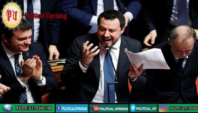 Salvini faces potential trial for refusing migrant boat