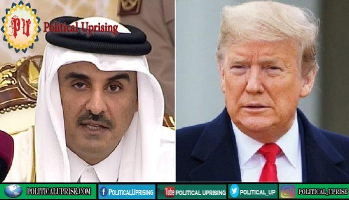 President Trump,Qatar's emir talk amid Taliban attacks