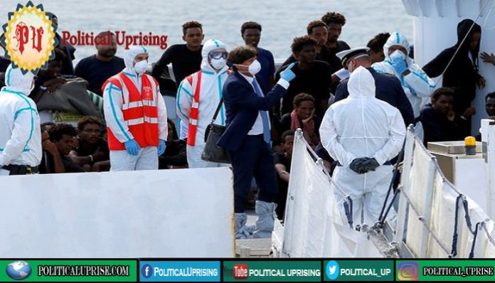 National emergency in Italy blocking ports for refugees