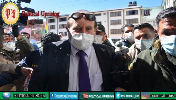 Bolivia minister arrested for 'ventilator corruption'