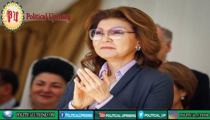 Former Kazakh leader daughter leaves key post