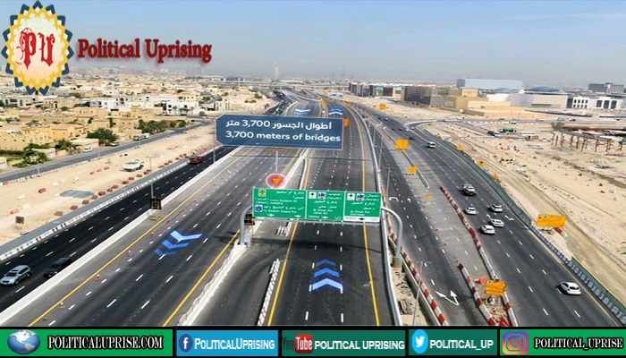 Dubai 13 bridge project leading to Hills Mall completed
