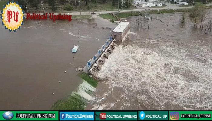Michigan dams break force thousand to flee