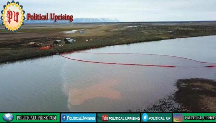 Russian 20,000-tonne diesel spill,Putin declares state of emergency