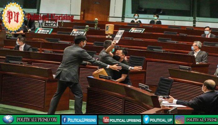 Hong Kong legislature passes China national anthem