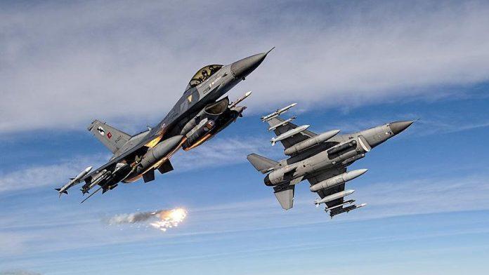 Turkish warplanes attack PKK sites in Iraq