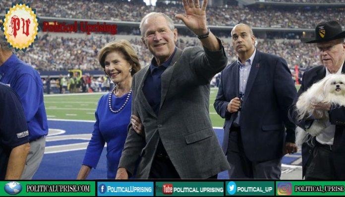 George Bush close officials endorse Biden