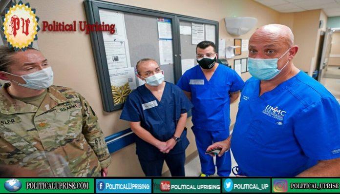 Teams of Military medics deploy in California as virus surges