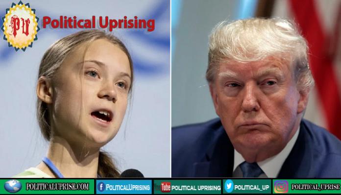 Greta Thunberg hits back at Donald Trump