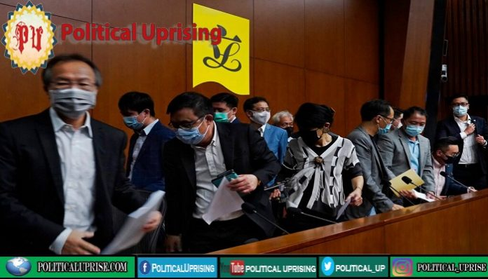Legislators in Hong Kong threaten mass resignations