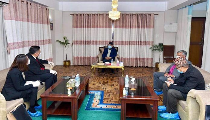 Senior Chinese leader meets Nepal PM amid political crisis