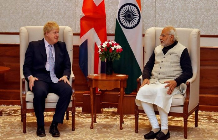 Boris Johnson plans to visit India,seeks investment