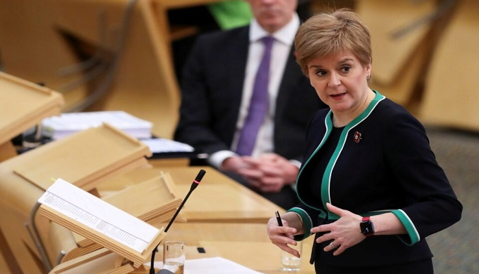 Scottish First Minister accuse UK PM of fearing democracy