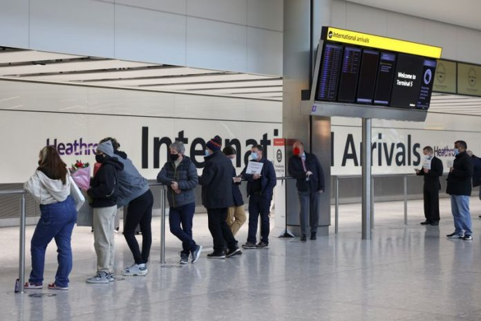 Britain closes world's busiest international route