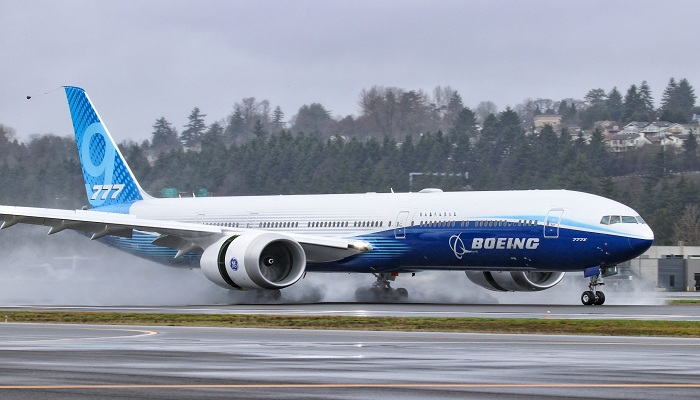 Boeing record annual loss cause again delays in new 777X jet