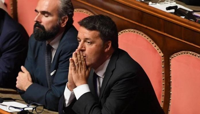 Italian PM faces a showdown with his coalition partner