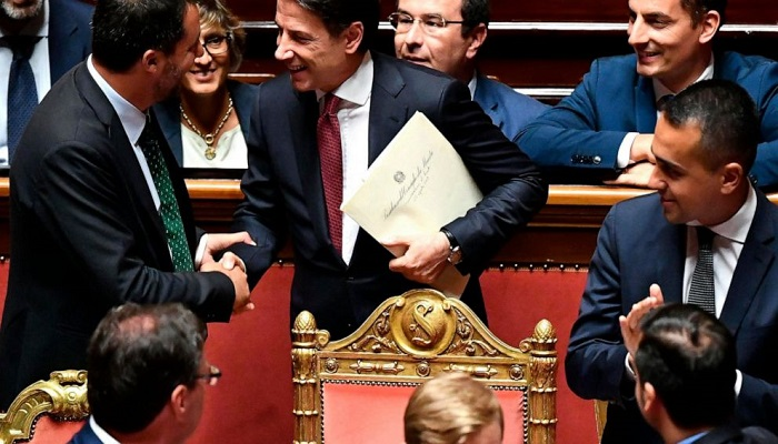 Italian PM handed his resignation to head of state