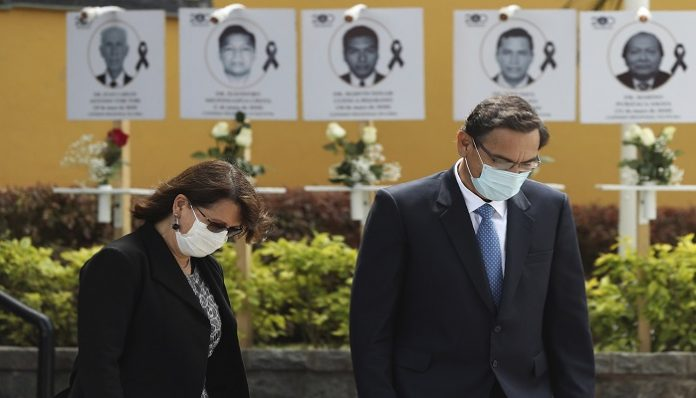 After COVID vaccine scandal,Peru swears in new health minister