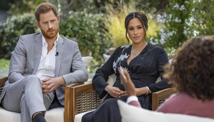 Prince Harry's wife accuses Buckingham Palace of 'perpetuating falsehoods'