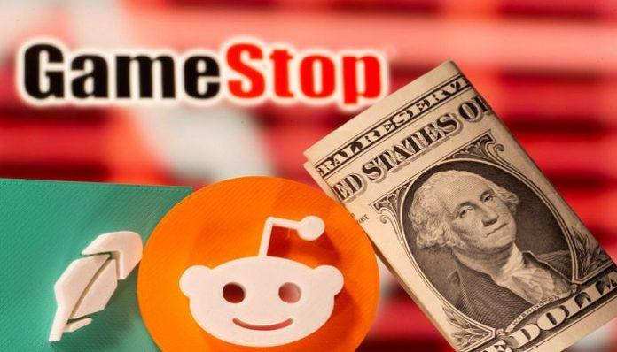 Reddit favourite GameStop Shares fall as mulls stock sale