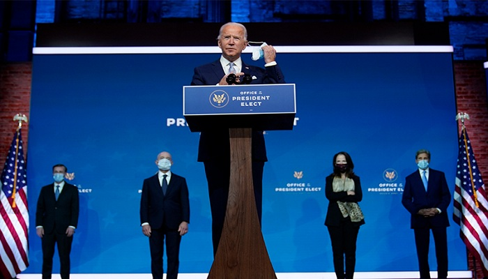 Biden's first 100 days in foreign policy