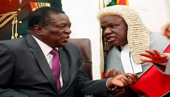 Zimbabwe's justice minister accuses judiciary for destabilising the government